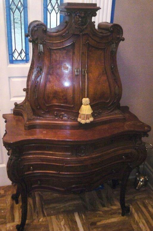 Antique secretary desk Furniture