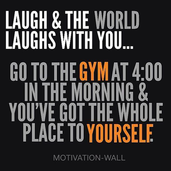 Morning Workout Quotes Inspiration Workout In The Morning Quote  The Best Collection Of Quotes