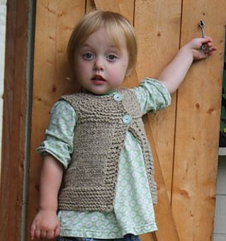 Free Crochet Vest Pattern For Child : Free vest pattern Knits for Kids Pinterest