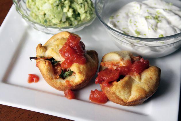 Chicken Salsa Empanadas - 10 Minute Meals — 10 Minute Meals