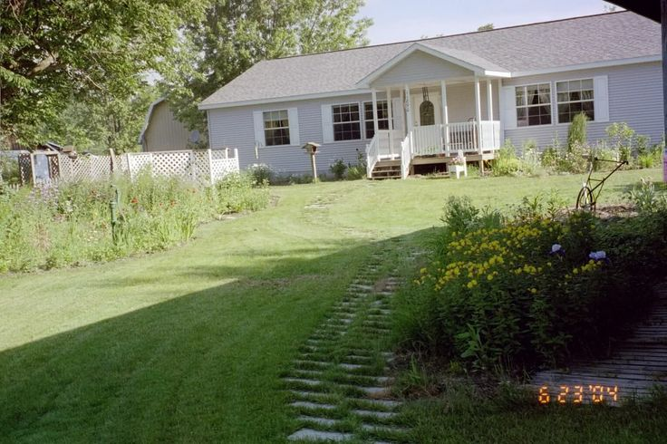 Porch Added To Manufactured Home Home And Garden Stuff Pinterest