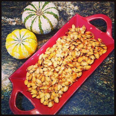 Just Jessie B: Fall Festivities & Roasted Pumpkin Seeds
