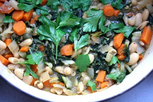 Recipe Flash: Swiss Chard and White Bean Stew | Big Girls Small ...