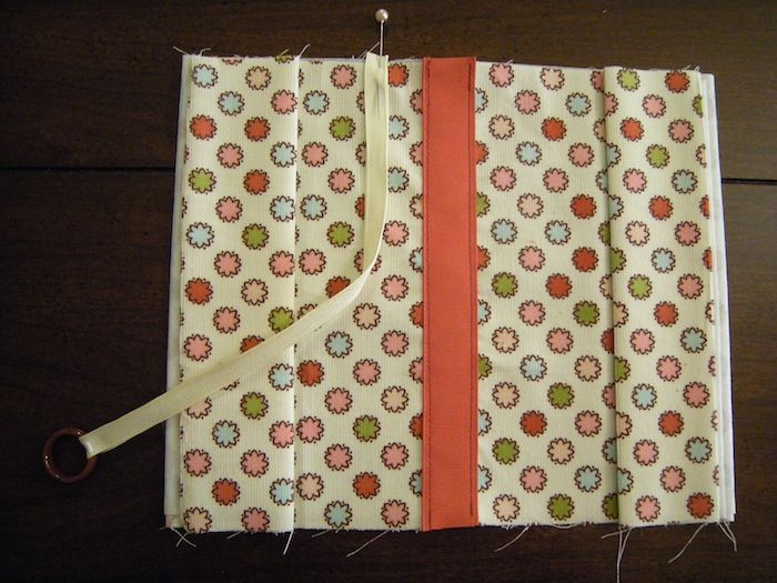 Fabric Book Covers Pattern ~ Fabric book cover sewing patterns and tutorials