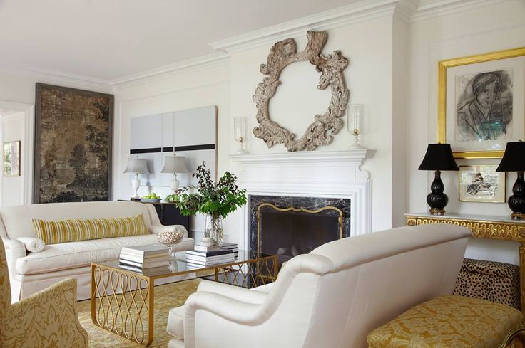 Via Veranda Magazine Living Rooms Pinterest