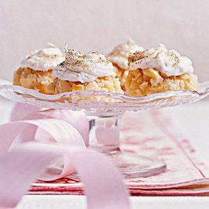 Macadamia Nut Cookies with Vanilla Cream Frosting | Recipe