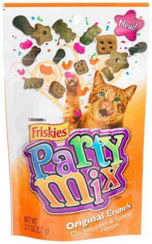 Friskies Party Mix, Original Crunch C... | Cat Treats | Pinterest