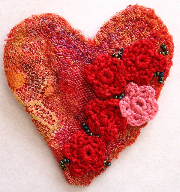 Felted Crochet : felt and crochet Fiber art Pinterest