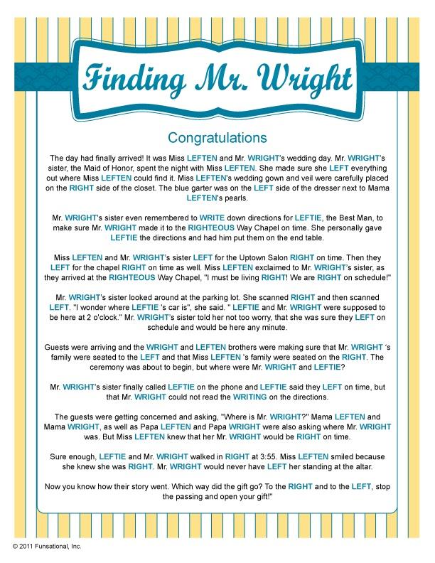 finding mr wright bridal shower games pinterest