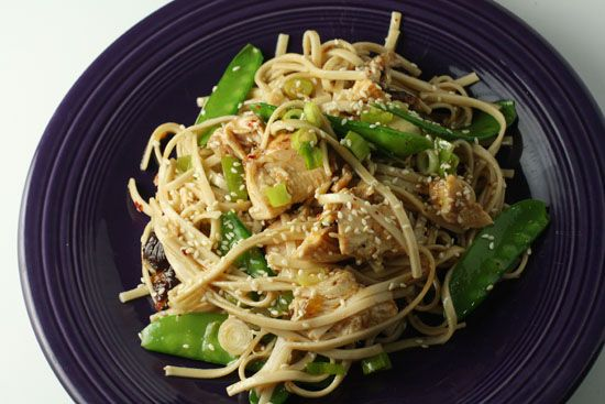 Asian Chicken Noodle Salad | Edibles | Pinterest