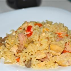 Man Pleasin' Jambalaya Allrecipes.com. This recipe was simple, quick ...
