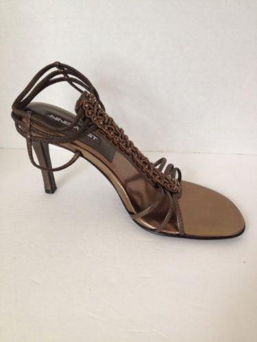 Nine West Shoes Womens Size 7 M Heels Rochelle Leather 7M Pumps