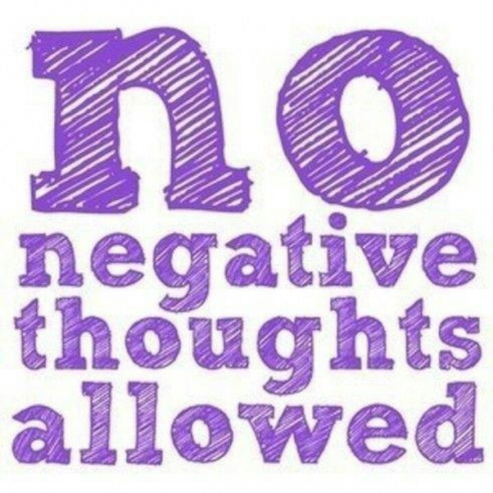 no negative thoughts quotes and facts pinterest