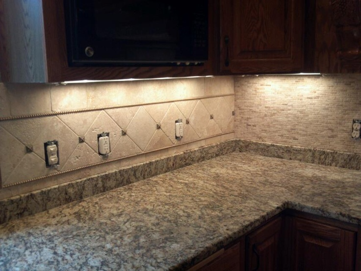 marble 6x6 with diagonal border kitchen backsplash 39 s pinterest