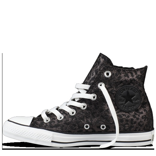 Converse - Chuck Taylor Leopard Side Zip - Hi - Black Leopard