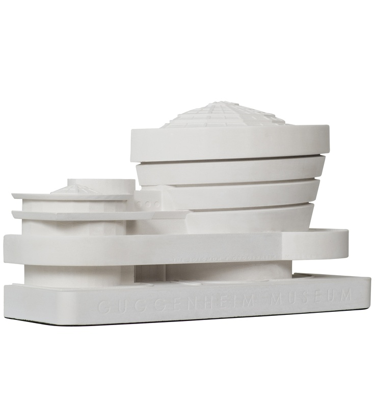 Guggenheim Museum Architectural Model by Chisel & Mouse