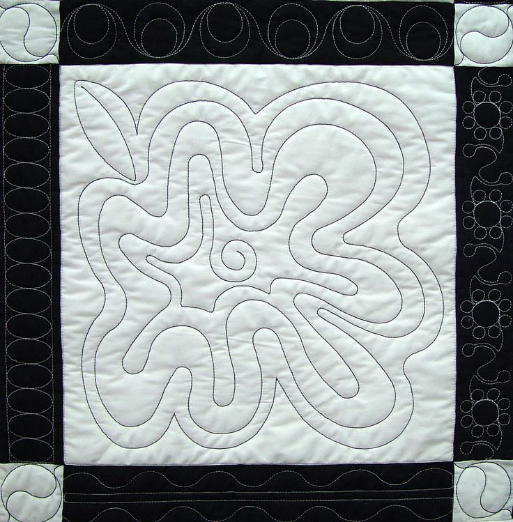 Modern Free Motion Quilting Patterns : Pinterest