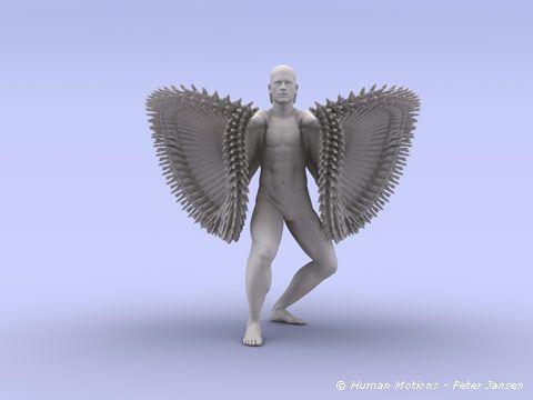 Human Motions - Peter Jansen. #experimentsinmotion