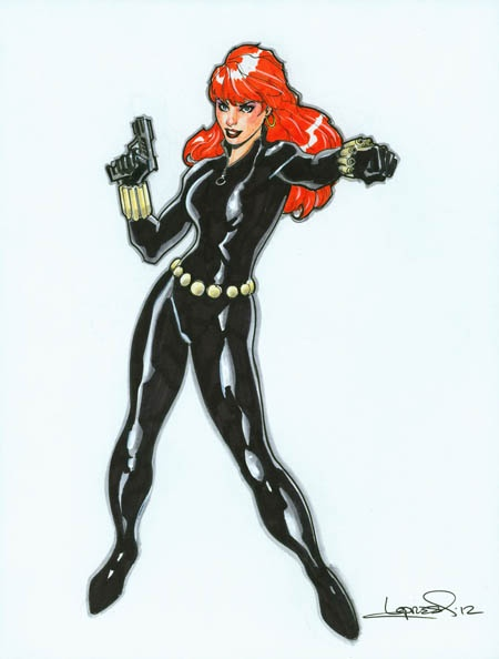 Black widow cartoons amp comic books pinterest
