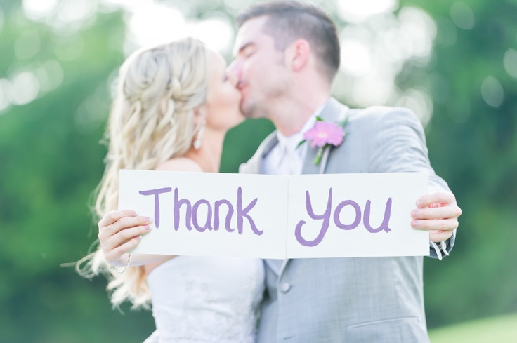 For our wedding Thank You notes. :-)
