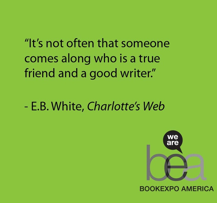 review of charlottes web by eb white Stephen amidon finds eb white's novel, charlotte's web, still has the power to capture the imagination 50 years on.