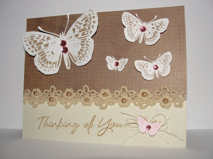 Lace ribbon border