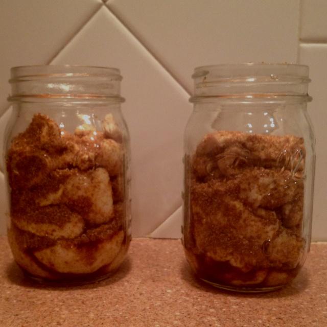 Monkey bread in a jar:) yumm | Food! | Pinterest
