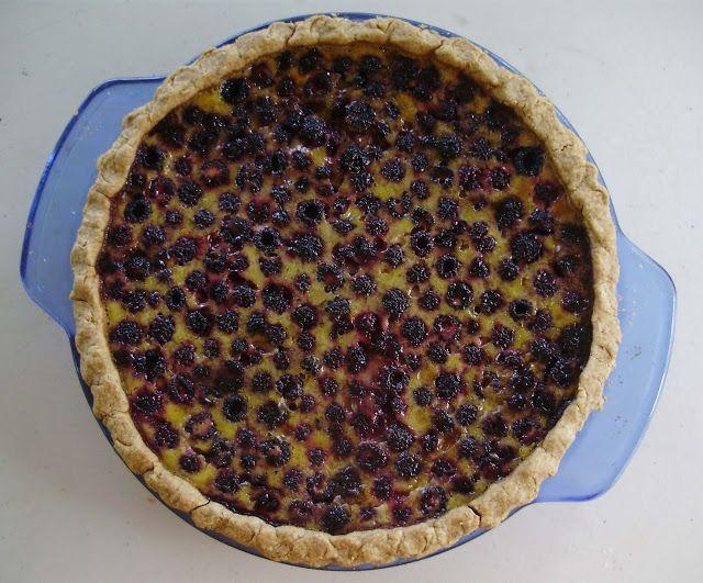 Wild Raspberry Custard | Food | Pinterest