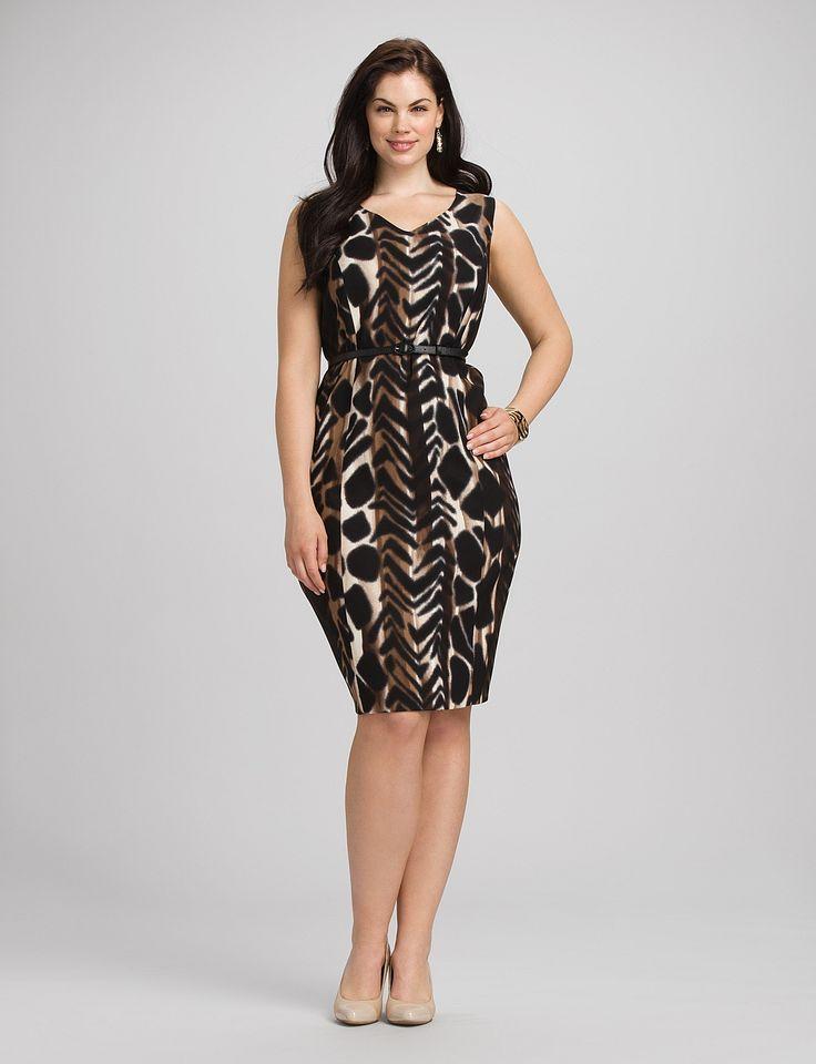 v back plus length dress