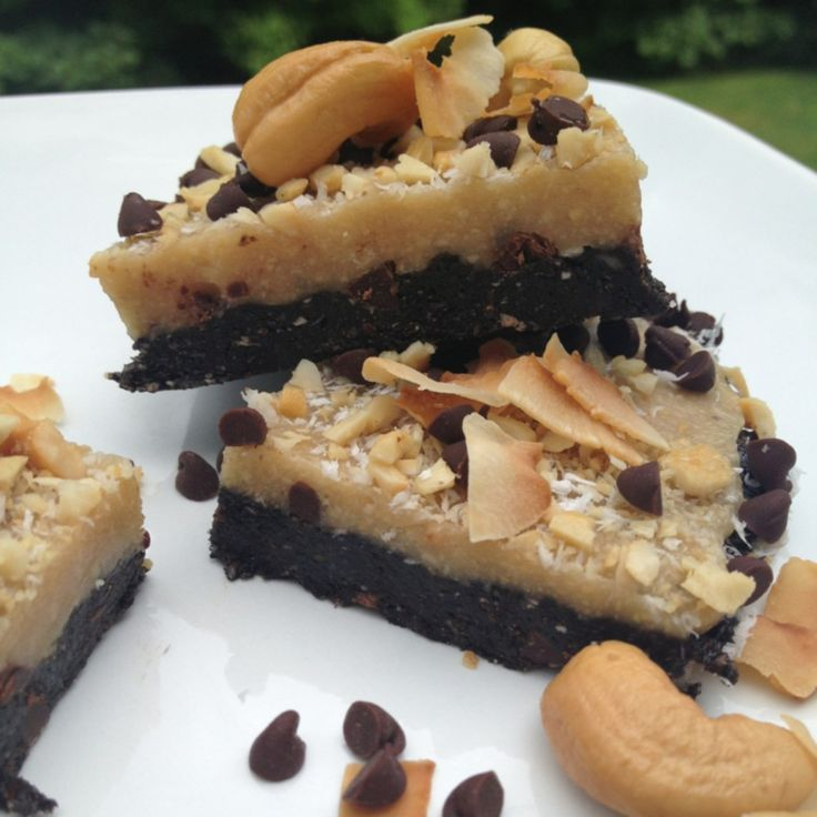 cashew joy no bake bars | diet & exercise | Pinterest