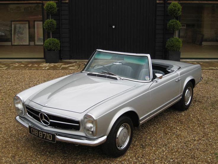 mercedes 280sl pagoda classic cars pinterest