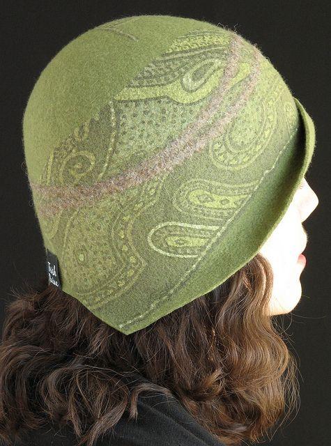 Trish Raine - hand made felted hat - beautiful!