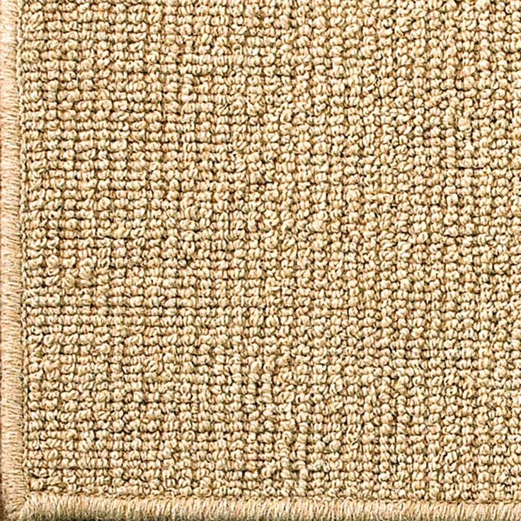 Wool Sisal W Serged Binding Rug Available In 2 Colors