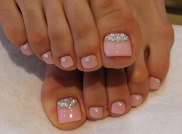 Fancy toes | Nails! | Pinterest