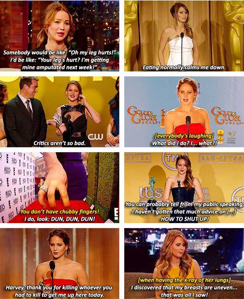 Jennifer Lawrence hahaha chubby fingers