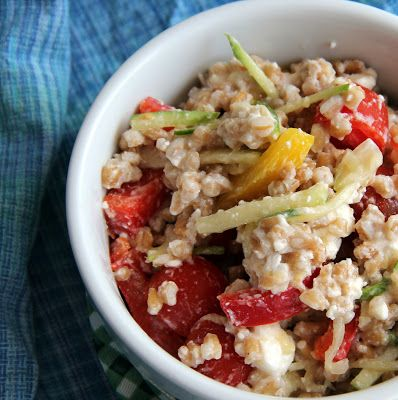 Summer Farro Salad by The Growing Foodie | My Favorite Recipes | Pint ...