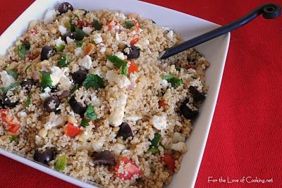 ... Cooking » Couscous with Kalamata Olives, Pine Nuts, and Feta Cheese