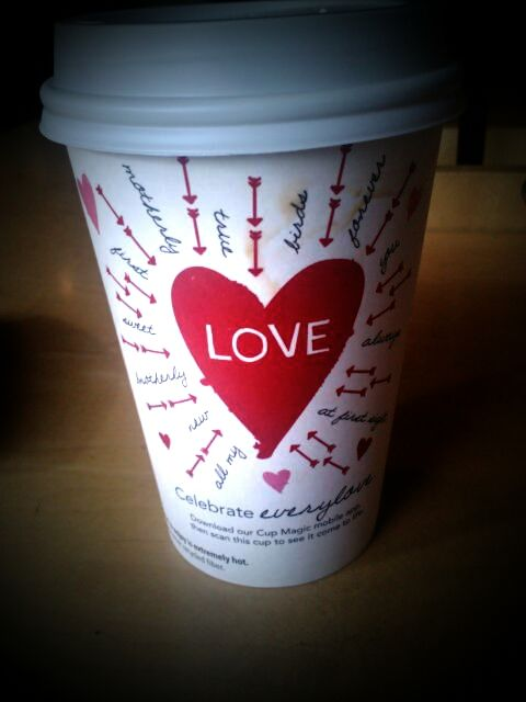 valentine's day starbucks mug