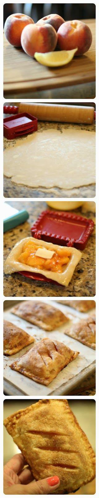 Mini Peach Pies | FOOD! (Mom's Recipes) | Pinterest