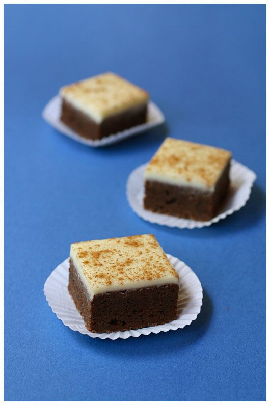 Cappuccino Brownies | Desserts | Pinterest