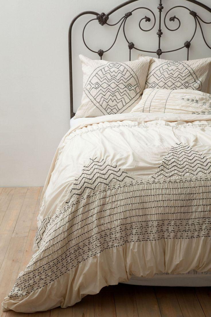 268 nip anthropologie corin queen duvet cover bedding