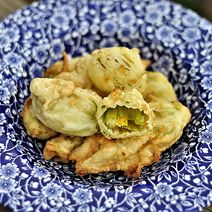 Squash Blossom Fritters in Beer Batter   Edible Madison