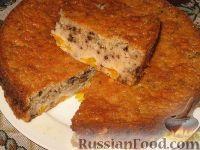 мандариновая шарлотка рецепт