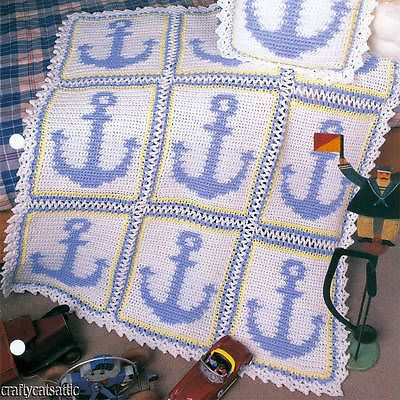 Anchor Knitting Pattern Blanket : Pin by Tracy Yakicic on crochet patterns Pinterest