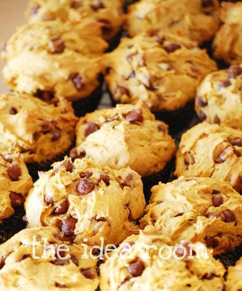 Pumpkin Chocolate Chip Muffins | Recipies(: | Pinterest