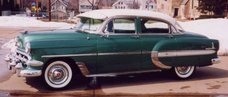 1954 chevrolet bel air 4 door sedan cars bikes pinterest for 1954 chevy 4 door