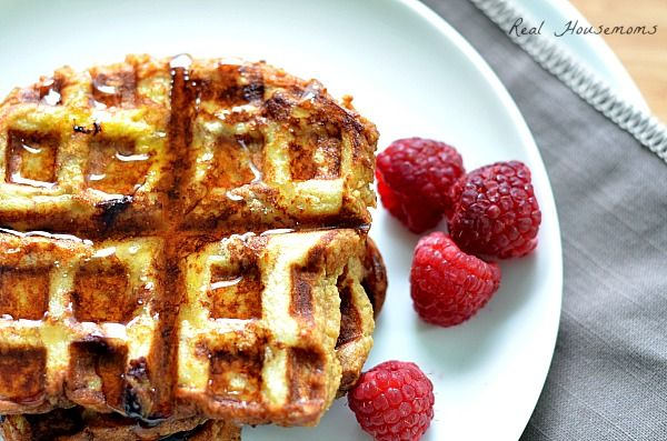Cinnamon French Toast Waffles | Recipes | Pinterest