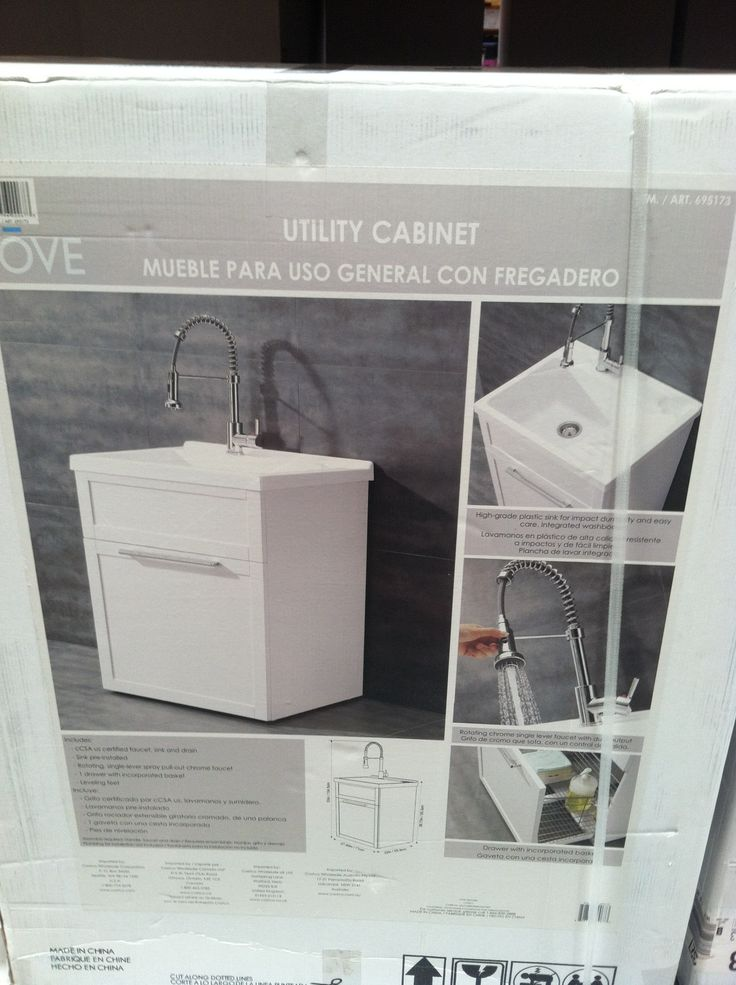 Laundry Sink Costco : New laundry room sink? Classier looking slop sink. Costco.