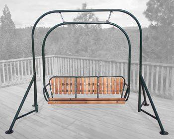 Ski lift chairs triple swing outdoor pinterest