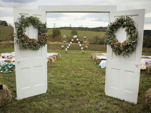 Great ideas for backyard weddings